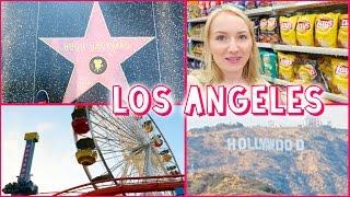 LOS ANGELES - Walk of FAME, Santa Monica & Target Shopping - Amerika Tour #5