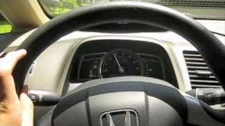 Short Test Drive of the 2007 Honda Civic Hybrid