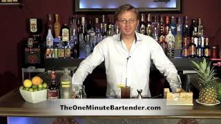 How To Make A Raspberry Lemonade Cocktail - Drink Recipes From The One Minute Bartender