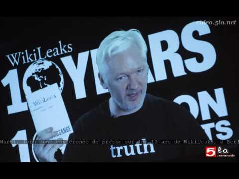 Wikileaks a 10 ans: retour sur les gros coups de l'organisation