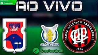 Paraná 0x0 Atlético-pr   Brasileirão 2018   Parciais Cartola Fc   7ª Rodada   27/05/2018