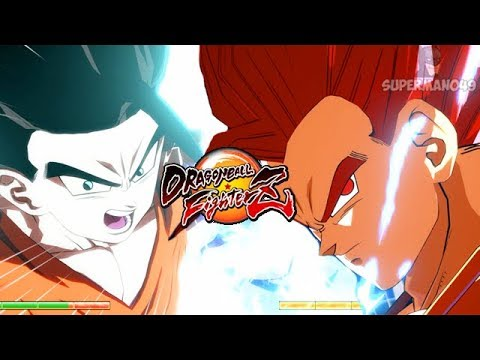Super Saiyan God Gohan & Ultimate Teen Gohan Team Up! - Dragon Ball FighterZ PC Mods SSG Gohan
