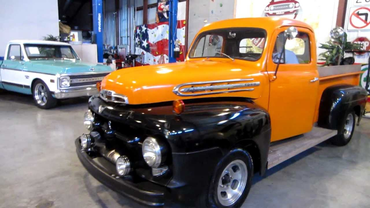 Sold 1951 ford f1 for sale passing lane motors classic for Classic motors for sale