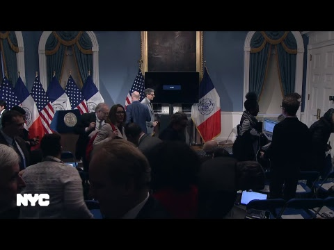 Mayor de Blasio Presents Fiscal Year 2019 Preliminary Budget