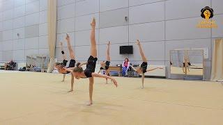 Сделано в Кузбассе HD: Тренировочный день и выступление гимнасток