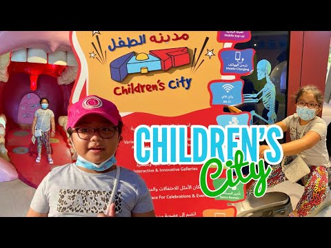I am Happy to be Back in Children's City at Dubai Creek Park   MIKAY TV