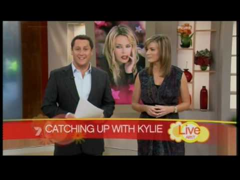 Kylie Minogue Interview on Mornings With Larry and Kylie