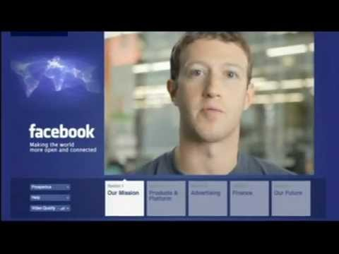 Facebook value at $104bn (£66bn) as share price unveiled