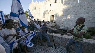 صدامات خلال احياء ما يسمى بتوحيد القدس  18-5-2015