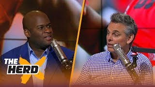 Vince Young lists his top 5 college QBs of all-time, famous 2005 Rose Bowl and more | THE HERD
