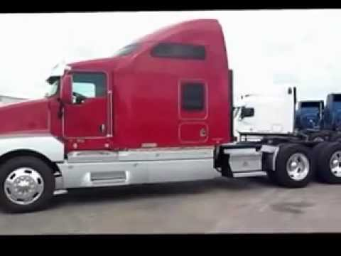 Used Kenworth T600 Orange Vidor Tx Porter Truck Sales