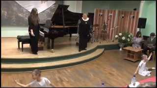 Марьюшка Монтаж Мы поем, девочки танцуют Февраль 2013