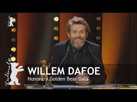 Willem Dafoe | Honorary Golden Bear Gala | Berlinale 2018