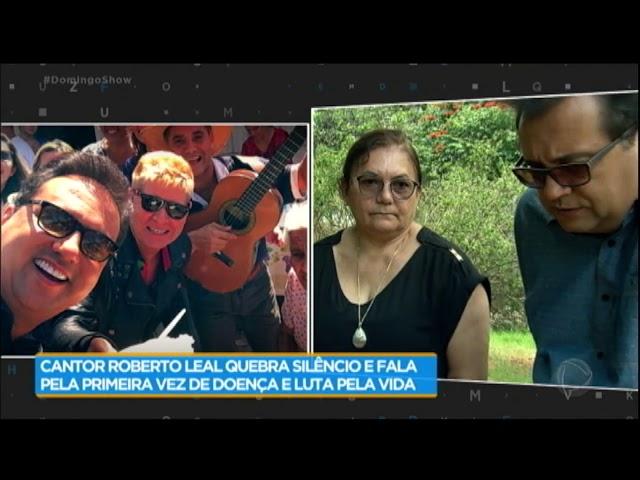 Funcionária de Roberto Leal revela momentos difíceis do cantor durante luta contra doença