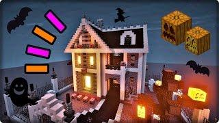 Minecraftで字幕解説しつつ、ハロウィンテーマの家を建築していきます。...