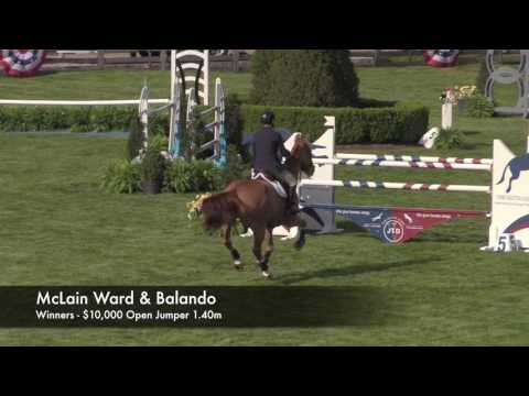 McLain Ward & Balando - 2017 $10,000 1.40m Winners