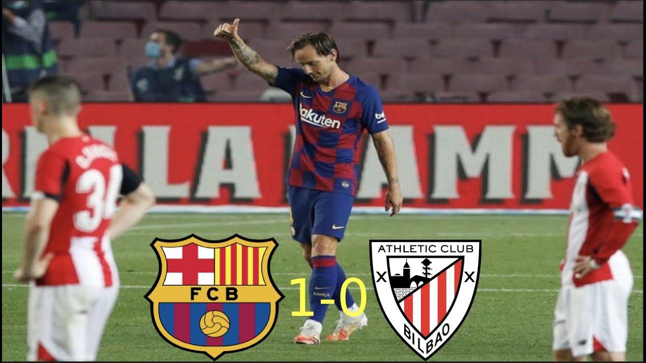 Barcelona vs. Athletic Bilbao (1-0) - Match Review - YouTube