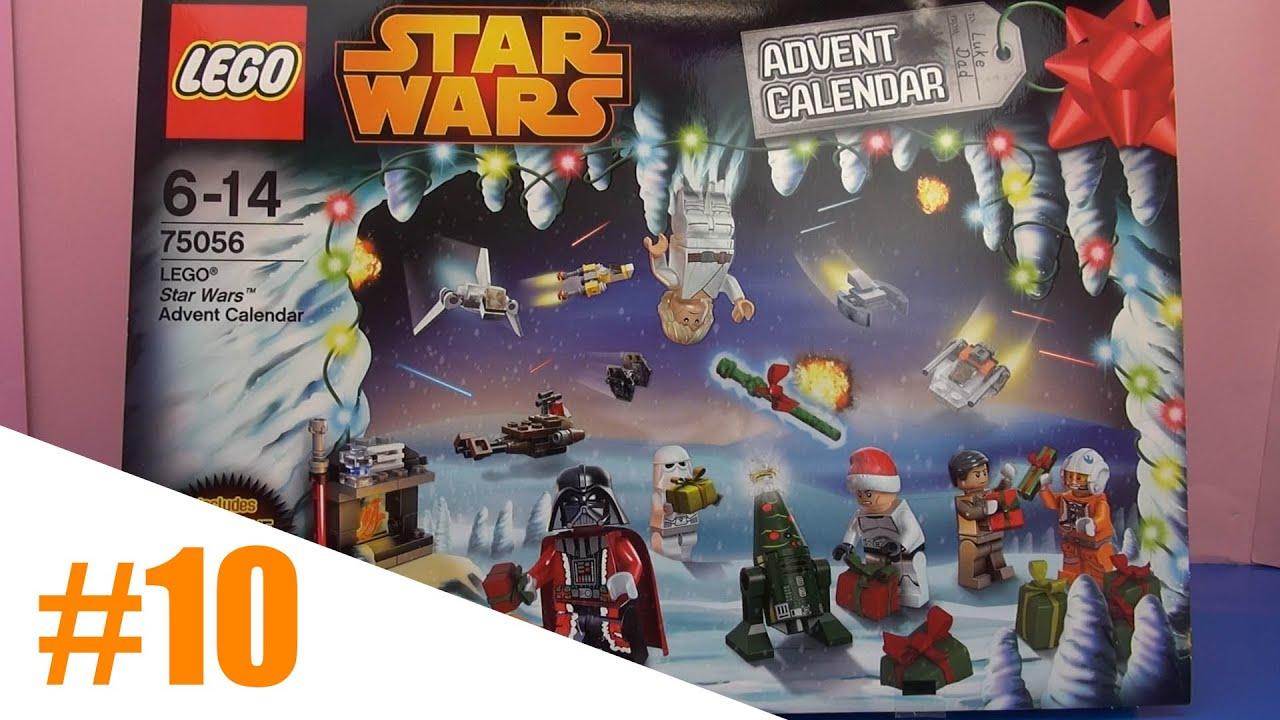 T r 10 des lego star wars adventskalender unboxing demo for Adventskalender duplo