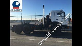NEW KAMAZ 44108 6X6 TRACTOR TRUCK JD EUROPE Worldwide Export - VIDEO
