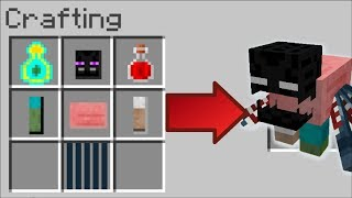 HOW TO INSTANTLY MAKE WEIRD CREATURES IN MINECRAFT !! Minecraft