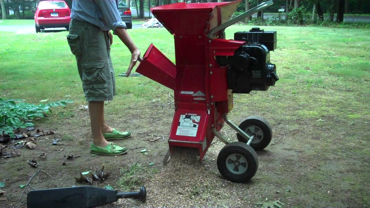 Troy Bilt Tomahawk 5hp Chipper Shredder