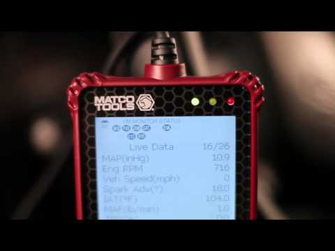 Advisor Series Diagnostic Code Readers (Matco Items MD60, MD70 and MD80)