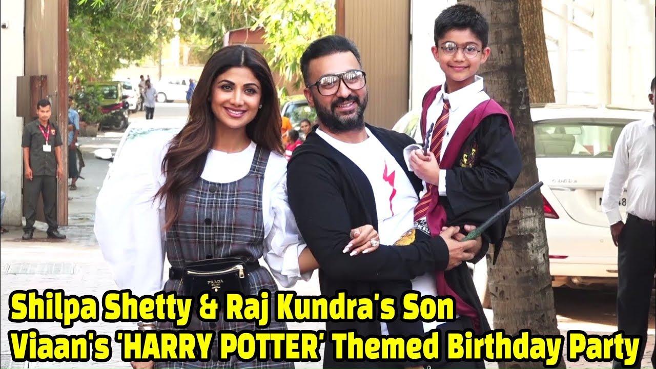Bollywood Celebs Attend Shilpa Shetty & Raj Kundra's Son Viaan's Harry  Potter Themed Birthday Party