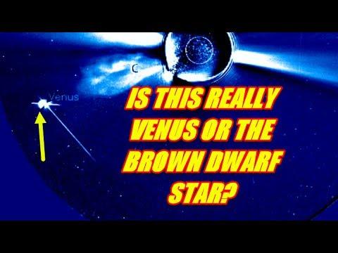 NIBIRU CHANNEL - VENUS SHOWING LONG STREAM OF LIGHT BEHIND IT, OR IS THIS REALLY VENUS???