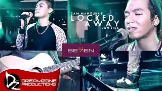 Video Locked Away - Sam Mangubat & Jun Sisa (Acoustic Cover) download MP3, 3GP, MP4, WEBM, AVI, FLV Juli 2018