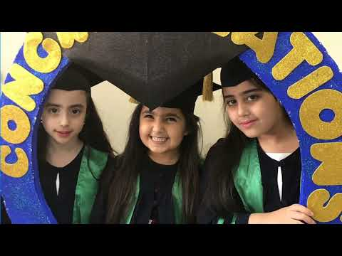 KG2 Graduation ceremony class of 2018