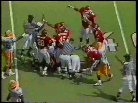 #13 Pittsburgh Panthers at #14 Oklahoma Sooners - 1990 - Football