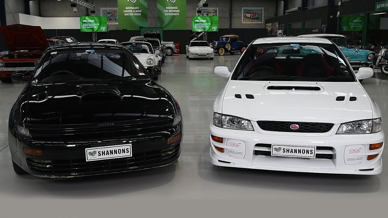 Pair of 90's Japanese 4WD Turbo's  - 2017 Shannons Melbourne Spring Classic Auction