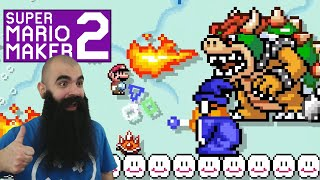 Tough Stuff - Mario Maker 2: No Skip Endless Super Expert #21