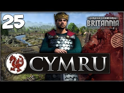 NORMAN INVASION OF SELSEY! Total War Saga: Thrones of Britannia - Cymru Campaign #25