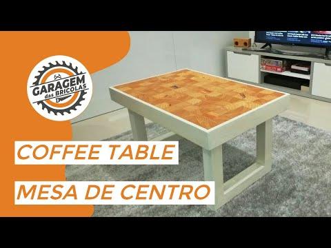 DIY# Wooden coffee table - Mesa de centro em madeira