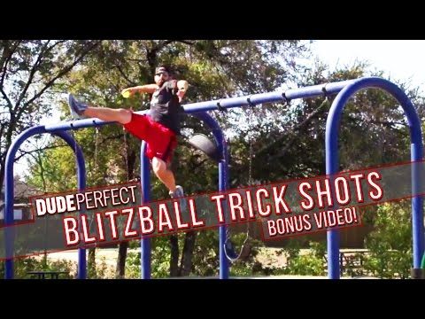 Thumbnail: Dude Perfect: Blitzball Trick Shots BONUS Video