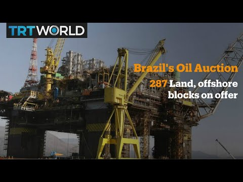 Money Talks: Brazil holds major oil field auction