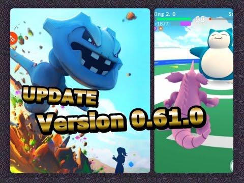 Pokémon GO UPDATE Ver.0.61.0 Connection fix, Gym battle fix? & more