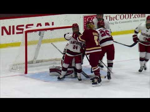 Recap: Harvard Women's Ice Hockey vs. Boston College - Nov. 22, 2017