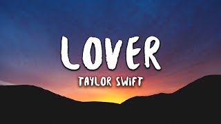 Gambar cover Taylor Swift - Lover (Lyrics)