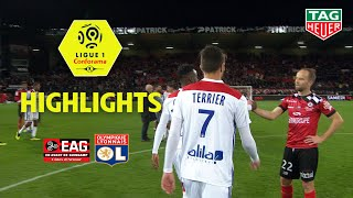 EA Guingamp - Olympique Lyonnais ( 2-4 ) - Highlights - (EAG - OL) / 2018-19