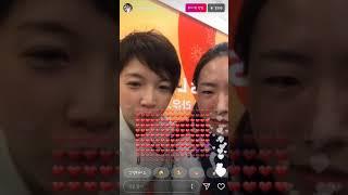 小平選手とイ・サンファ選手のインスタライブ!고다이라,이상화 인스타라이브 小平奈緒 検索動画 20