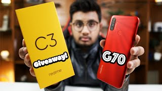 realme C3 Unboxing| GIveaway Type Scene Hai.