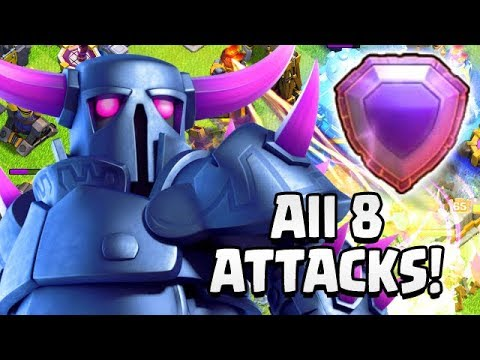 TWO DAYS AWAY!  8 LEGEND LEAGUE ATTACKS | TH12 Farm To Max | Clash Of Clans