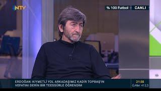 Rıdvan Dilmen: Mesut Özil futbolun emrettiğini oynuyor