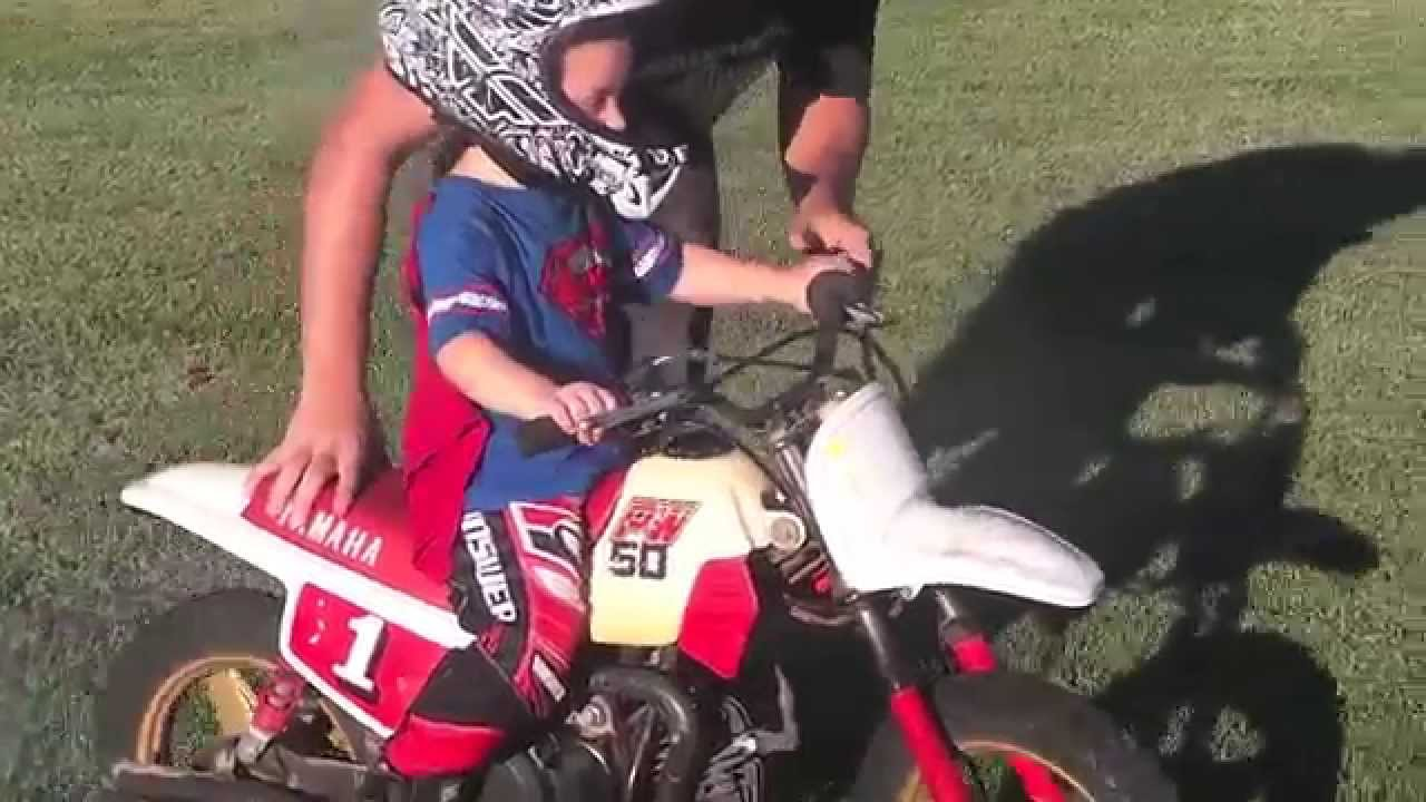 2 Year Old Riding Dirt Bike Youtube