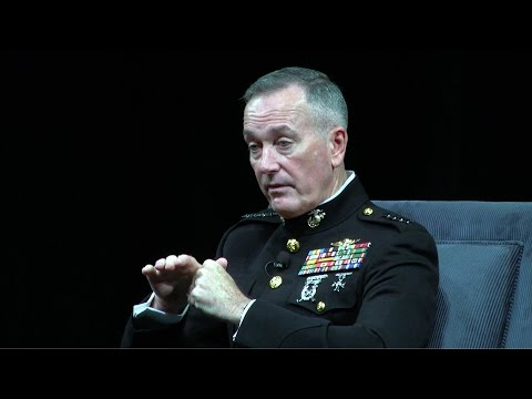 2016 The George P. Shultz Lecture Series - General Joseph F. Dunford, Jr. USMC - Full Length Version