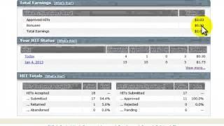 Amazon Mechanical Turk Review -Make Money Online-