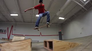 New Skateboard Ramps Built!