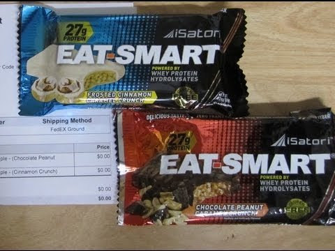 Eat-Smart Protein Bars - Supplement Review - Mind Body & Soul Workout
